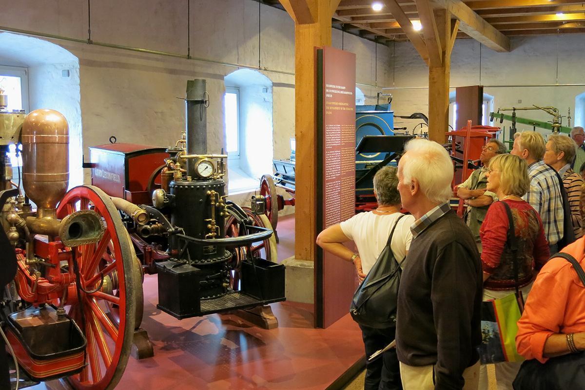 Blick ins Feuerwehrmuseum in Kloster und Schloss Salem