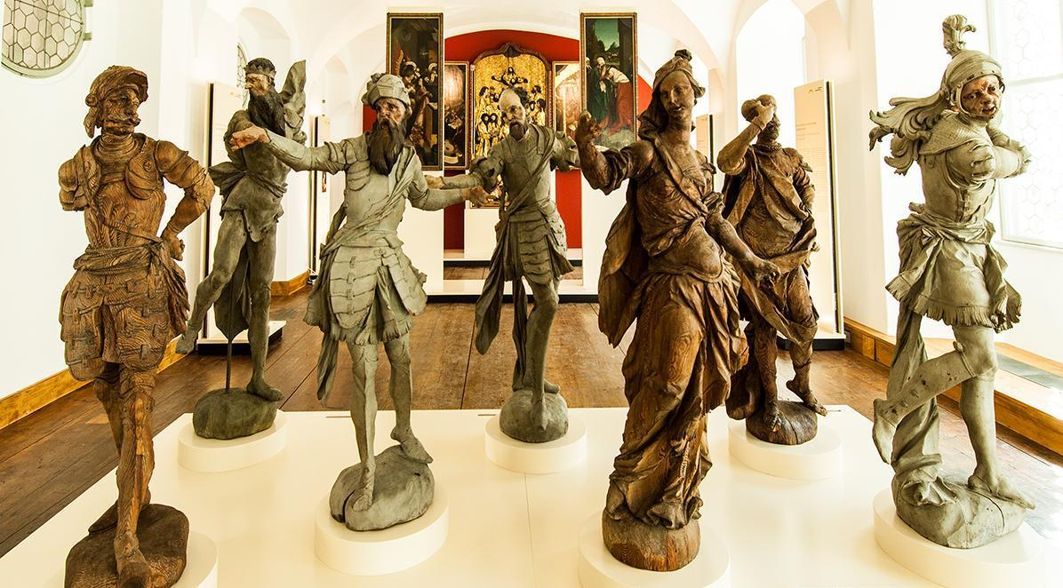 Blick in das Salemer Klostermuseum