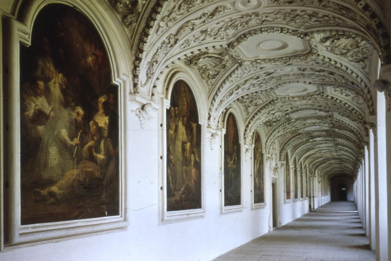 Bernhardusgang im Kloster und Schloss Salem