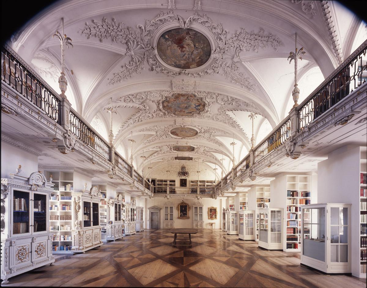 Bibliothek im Kloster und Schloss Salem; Foto: Dr. Ulrich Knapp