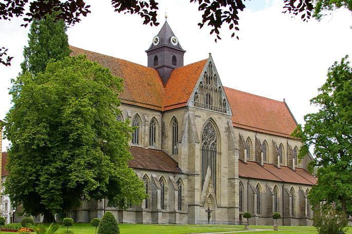 Das Münster von Kloster Salem im Sommer