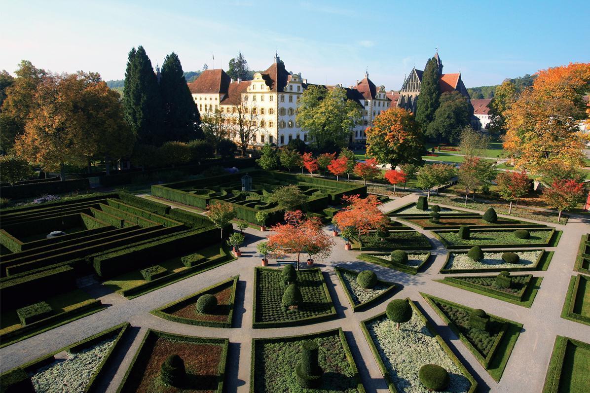 Außenansicht Kloster und Schloss Salem; Foto: Staatliche Schlösser und Gärten Baden-Württemberg, Achim Mende