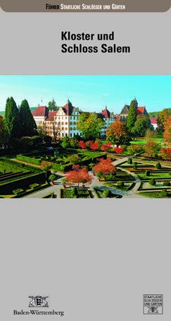 Cover: Kloster und Schloss Salem. Deutscher Kunstverlag Berlin/München 2009