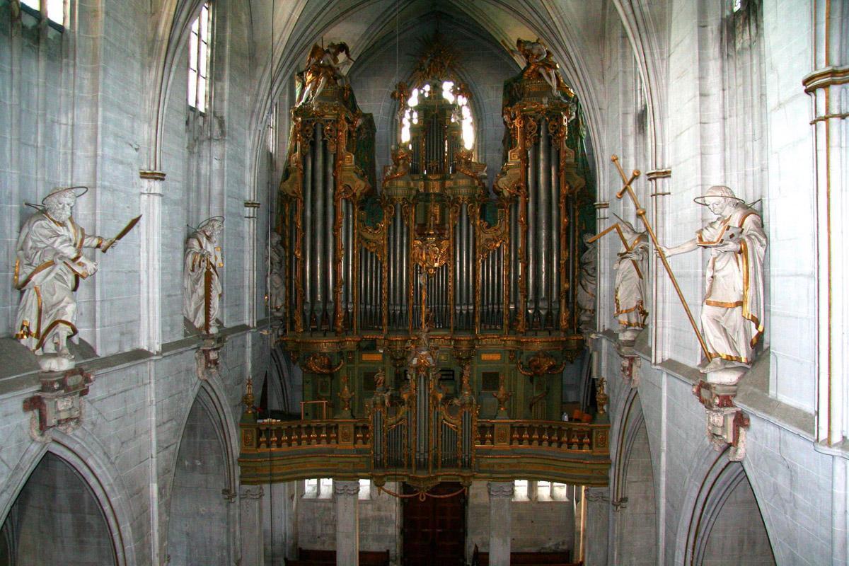 Orgel im Münster von Kloster und Schloss Salem; Foto: Achim Mende