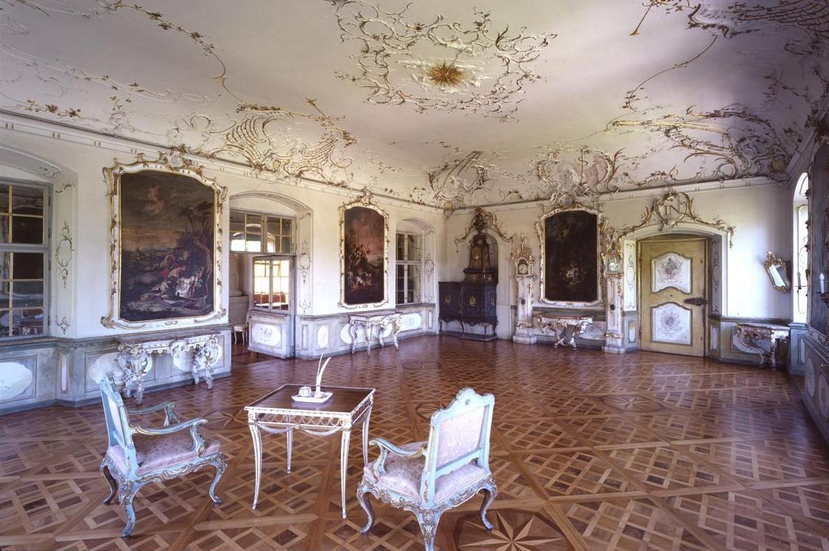 Abtsalon in Kloster und Schloss Salem; Foto: Staatliche Schlösser und Gärten Baden-Württemberg, Urheber unbekannt