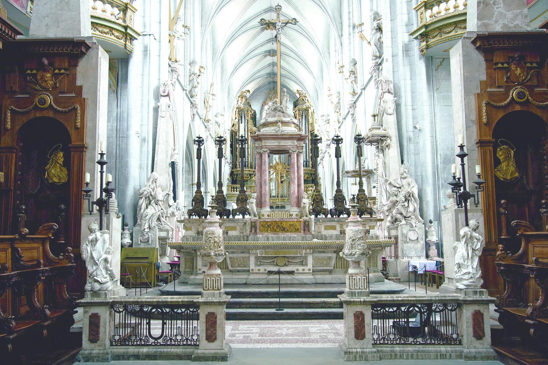 Kloster und Schloss Salem, Innenansicht des Münsters