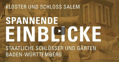 """Startbildschirm des Filmes """"Spannende Einblick mit Michael Hörrmann: Kloster und Schloss Salem"""""""