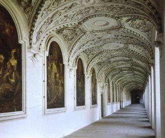 Bernhardusgang im Kloster und Schloss Bebenhausen