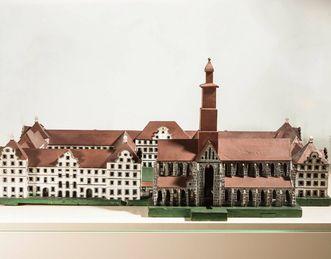 Kloster und Schloss Salem, Klostermodell von Franz Beer