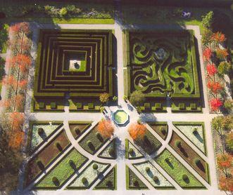 Hofgarten von Kloster und Schloss Salem