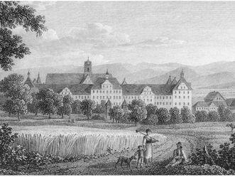 Salem von Süden, Carl Kuntz, 1822