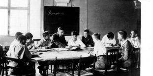 Humanistenklasse in der Schule Schloss Salem