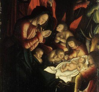 Ausschnitt aus dem Strigel-Altar; Foto: Badisches Landesmuseum