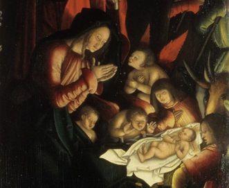 Ausschnitt Strigel-Altar Salem; Foto: Badisches Landesmuseum