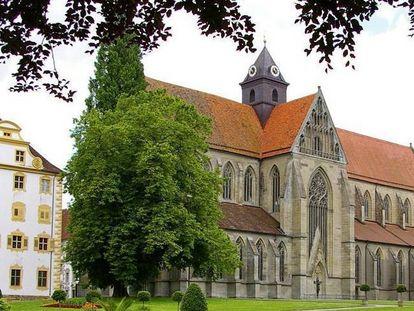 Klosterkirche von Salem; Foto: Staatliche Schlösser und Gärten Baden-Württemberg, Hermann Böhne