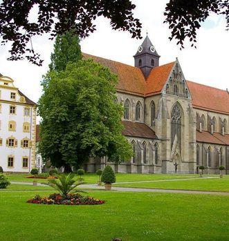 Das Münster in Kloster Salem; Foto: Staatliche Schlösser und Gärten Baden-Württemberg, Hermann Boehne