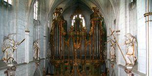 Orgel im Münster von Kloster und Schloss Salem