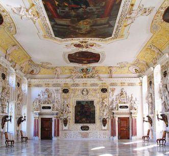 Kaisersaal im Kloster und Schloss Salem