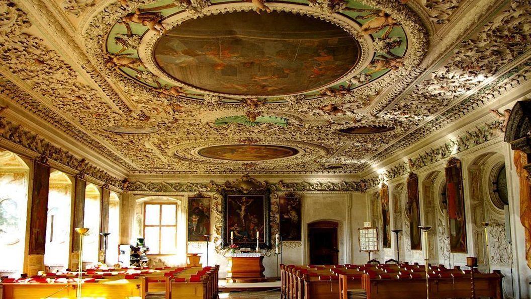 Sommerrefektorium von Kloster und Schloss Salem; Foto: Urheber Unbekannt