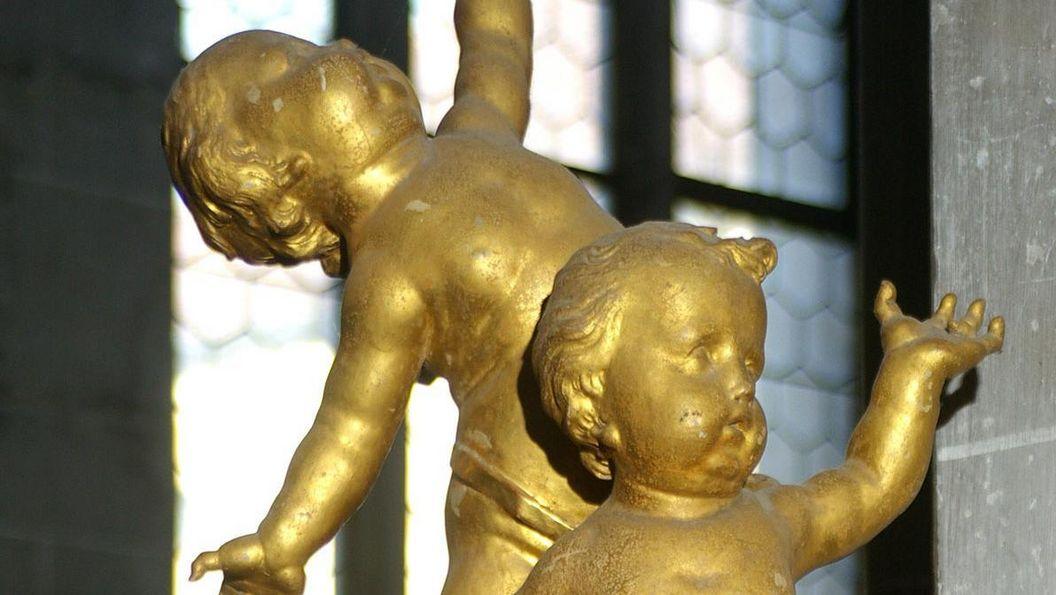 Putten im Salemer Münster; Foto: Hermann Boehne