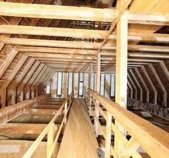 Dachstuhl des Münsters von Kloster und Schloss Salem