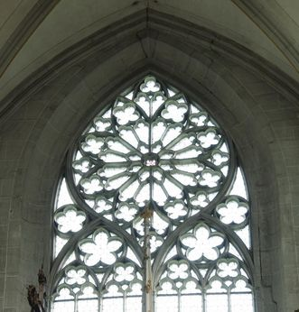 Detailansicht Blase im Münster von Kloster und Schloss Salem; Foto: Hermann Böhne