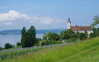 Die Wallfahrtskirche Birnau; Foto: Pixabay, gemeinfrei