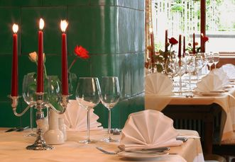 Restaurant Schwanen at Salem Monastery and Palace; Photo: Restaurant Schwanen