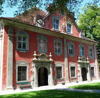 Außenansicht Marstall von Kloster und Schloss Salem