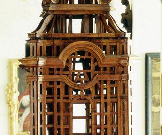 Modell des Vierungsturms von Kloster und Schloss Salem