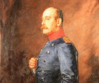 Porträt Prinz Max von Baden im Kloster und Schloss Salem