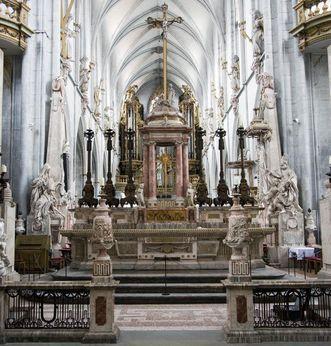 Chorschranke im Münster von Kloster Salem; Foto: Staatliche Schlösser und Gärten Baden-Württemberg, Merz-Wenger