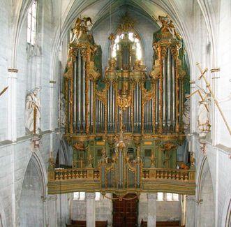Kloster und Schloss Salem, Orgel im Münster